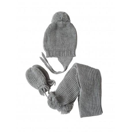 strickm tze schal und handschuhe f r babys 4nenes. Black Bedroom Furniture Sets. Home Design Ideas