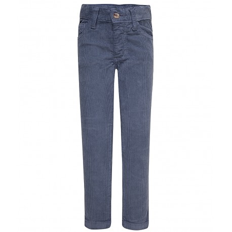 06a4cb5155 Lange blaue Stoffhose - 4nenes Kindermode Onlineshop