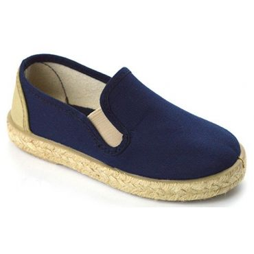 Espadrilles Slipper in Blau